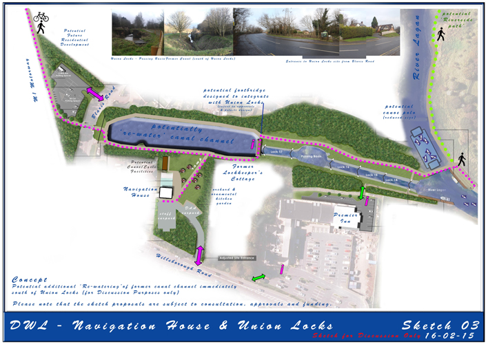 Picture: Map of the Union Locks